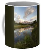 Reflection At Schwabacher Landing Coffee Mug