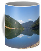 Reflection At The Reservoir Coffee Mug