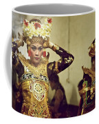Reflection Of A Kecak Dancer Coffee Mug