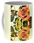 Reflection Of A Warm Rose Coffee Mug