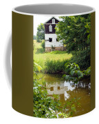 Reflection Of The Barn Coffee Mug