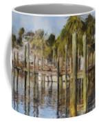 Reflections At Fort Pierce Coffee Mug