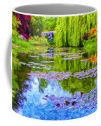 Reflections At Giverny Coffee Mug