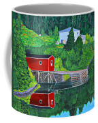 Reflections H D R Coffee Mug by Barbara Griffin