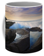 Reflections In Monument Cove Coffee Mug