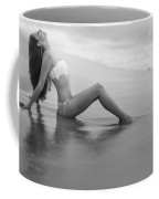 Reflections In Wet Sand Coffee Mug