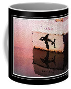 Reflections Of An Orca In Stained Glass Coffee Mug