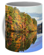 Reflections Of Autumn Coffee Mug by Susan Leggett