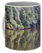 Reflections On Aldridge Lake Coffee Mug