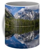 Reflections On String Lake Coffee Mug