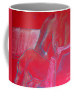 Relaxing In Red Coffee Mug