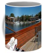 Relaxing On Lake Tahoe Coffee Mug
