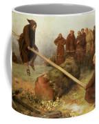 Religion Was Never Designed To Make Our Pleasure Less Coffee Mug by William Strutt