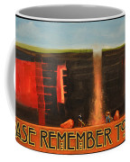 Remember To Flush Poster Coffee Mug