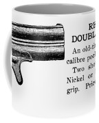 Remington Double Derringer Coffee Mug