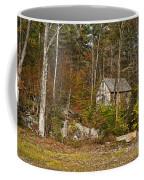 Remote Vermont Cabin Coffee Mug