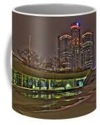 Renaissance Center Detroit Mi Coffee Mug