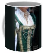 Renaissance Lady In Green Coffee Mug