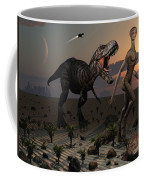 Reptoids Tame Dinosaurs Using Telepathy Coffee Mug