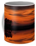 Reservoir Sunset Coffee Mug