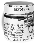 Revolver, 19th Century Coffee Mug
