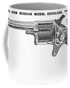 Revolver Ad, 1878 Coffee Mug