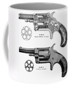 Revolvers, 19th Century Coffee Mug