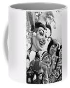 Rex Mardi Gras Parade Xi Bw Coffee Mug