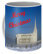 Rexburg Temple Christmas Coffee Mug