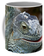 Rhinoceros Iguana Coffee Mug by Fabrizio Troiani