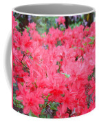 Rhodies Art Prints Pink Rhododendrons Floral Coffee Mug
