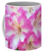 Rhododendron- Hot Pink Coffee Mug