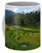 Rice Fields In Agricultural Bali Coffee Mug