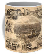 Rice Plantation, 1866 Coffee Mug