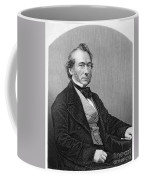 Richard Cobden (1804-1865). /nenglish Politician And Economist. Steel Engraving, English, 19th Century Coffee Mug