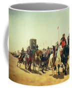 Richard Coeur De Lion On His Way To Jerusalem Coffee Mug