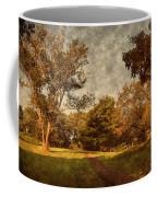Ridge Walk - Holmdel Park Coffee Mug by Angie Tirado