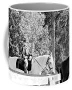 Riding Soldiers B And W IIi Coffee Mug