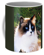 Rikki Blue Eyes Coffee Mug