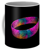 Ring Of Feathers 3d Coffee Mug