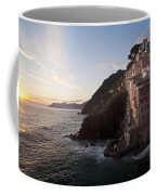 Riomaggio Sunset Coffee Mug