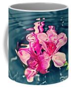 Rippling Flowers Coffee Mug