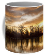 Rising Sun At Crane Hollow Coffee Mug