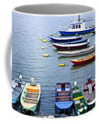 River Boats On Danube Coffee Mug by Elena Elisseeva