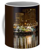 River Front At Night Coffee Mug