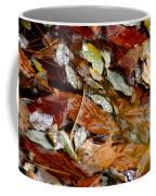 River Leaves Coffee Mug by LeeAnn McLaneGoetz McLaneGoetzStudioLLCcom