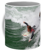 River Surfing Coffee Mug