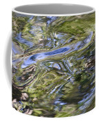 River Swirls - Abstract Coffee Mug