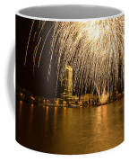River Thames Fireworks Coffee Mug