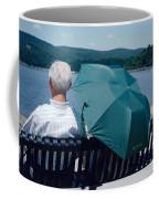 Riverfront Green Coffee Mug
